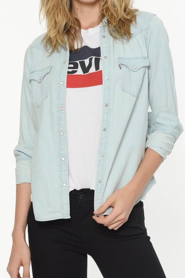 Levis Kadın Ultimate Western Jean Gömlek 58930-0008
